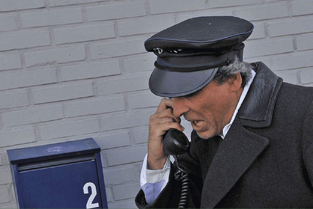 Pieter de postbode