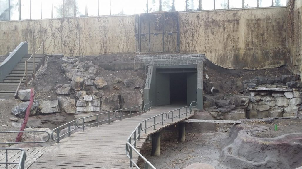 Rondleidingd voormalig dierentuin
